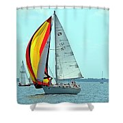 Anemone And Defiant Shower Curtain