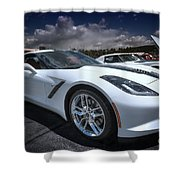 2014 Chevrolet Stingray Shower Curtain
