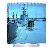 2014 Naval Park Shower Curtain