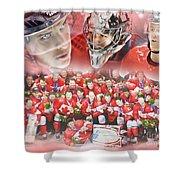 2014 Team Canada Shower Curtain