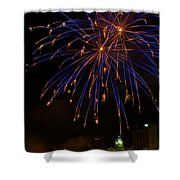 2014 Three Rivers Festival Fireworks Fairmont Wv 1 Shower Curtain