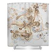 2014_divergent Shower Curtain