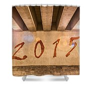 2015 Shower Curtain