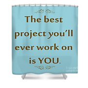 208- The Best Project You'll Ever Work On Is You Shower Curtain