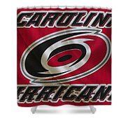 Carolina Hurricanes Shower Curtain