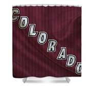 Colorado Avalanche Shower Curtain