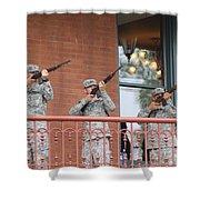 21 Gun Salute Shower Curtain