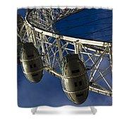 The London Eye Shower Curtain