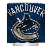 Vancouver Canucks Shower Curtain