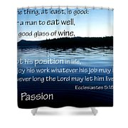 21048 Passion 2 Shower Curtain