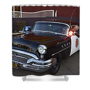 2150 To Headquarters Shower Curtain
