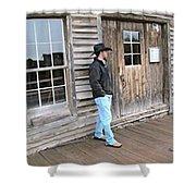 21st Century Cowboy Shower Curtain