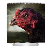 22. Game Hen Shower Curtain