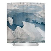 Iceberg, Antarctica Shower Curtain