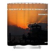 Motivate Shower Curtain