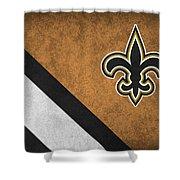New Orleans Saints Shower Curtain
