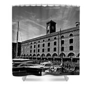 St Katherines Dock London Shower Curtain