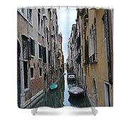 Venice Canal Shower Curtain