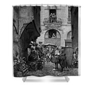Voltaire (1694-1778) Shower Curtain