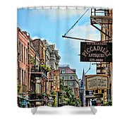 228 Charters New Orleans Shower Curtain