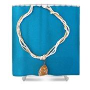 Aphrodite Urania Necklace Shower Curtain
