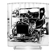 23 Ford Shower Curtain