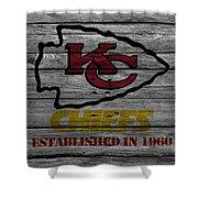 Kansas City Chiefs Shower Curtain
