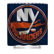 New York Islanders Shower Curtain