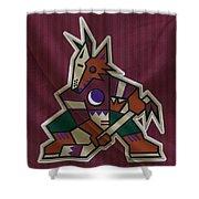 Phoenix Coyotes Shower Curtain