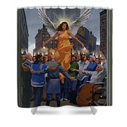 23. The Holy Spirit Arrives / From The Passion Of Christ - A Gay Vision Shower Curtain