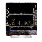 Tower Bridge Art Shower Curtain