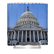 Us Capitol Building Shower Curtain