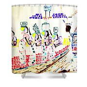 Wise Virgins Shower Curtain