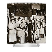 Wwi Refugees, 1918 Shower Curtain