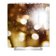 Abstract Background Shower Curtain