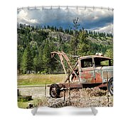 24 7 365 Towing Shower Curtain