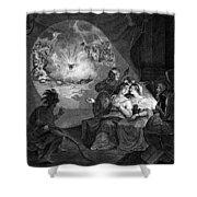 Boston Tea Party, 1773 Shower Curtain