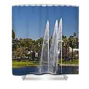 Echo Park L A Shower Curtain