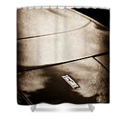 Ferrari Emblem Shower Curtain