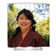 Japanese Women Shower Curtain