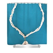Aphrodite Gamelioi Necklace Shower Curtain