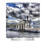 Butlers Wharf London Shower Curtain