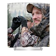Hunting In Oregon Shower Curtain