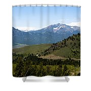 Euphorbic Marginata 5 Shower Curtain