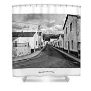 Over The Hills And Far Away Shower Curtain by Joseph Amaral