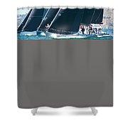 San Francisco Regatta Shower Curtain