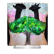 25. Suzy Scheinberg, Artist, 2015 Shower Curtain