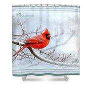 2559-1 Cardinal Shower Curtain