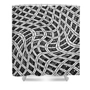 Canary Wharf London Shower Curtain