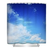 Clouds Shower Curtain